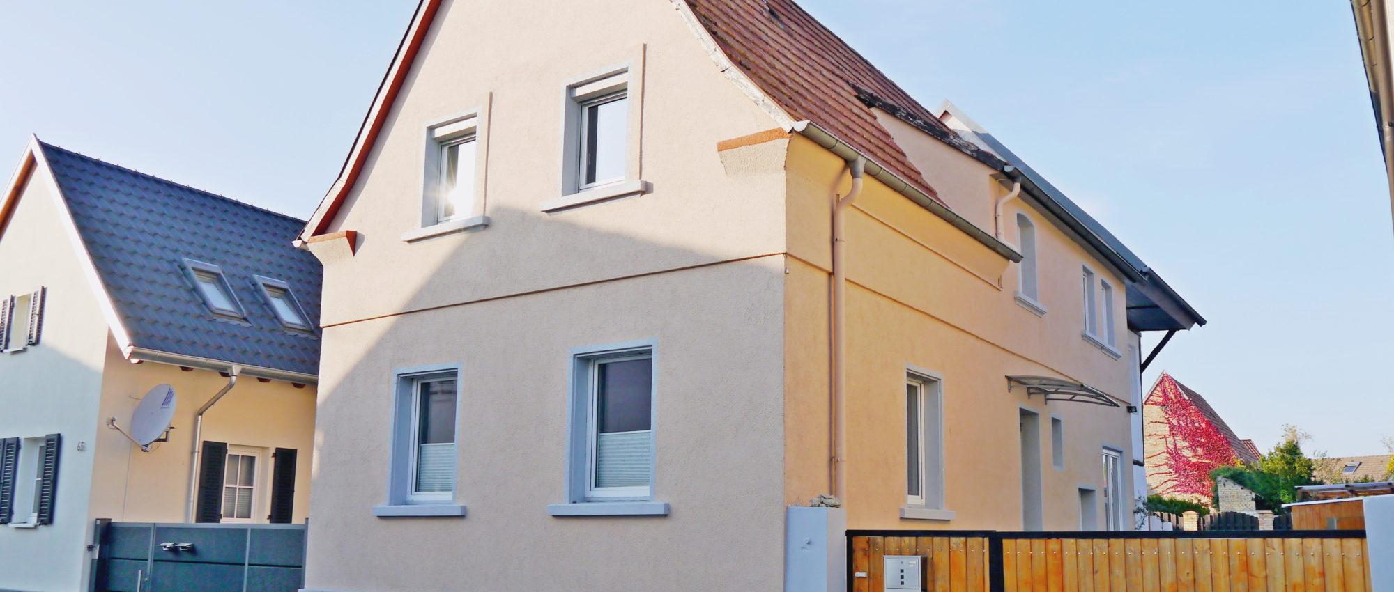 Reserviert! Freistehendes Einfamilienhaus mit Hof und Garten in Rülzheim (Kreis Germersheim)
